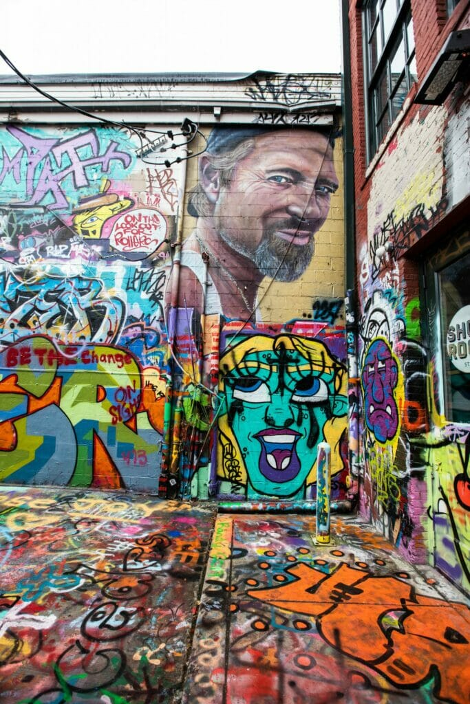 Baltimore's Graffiti Alley