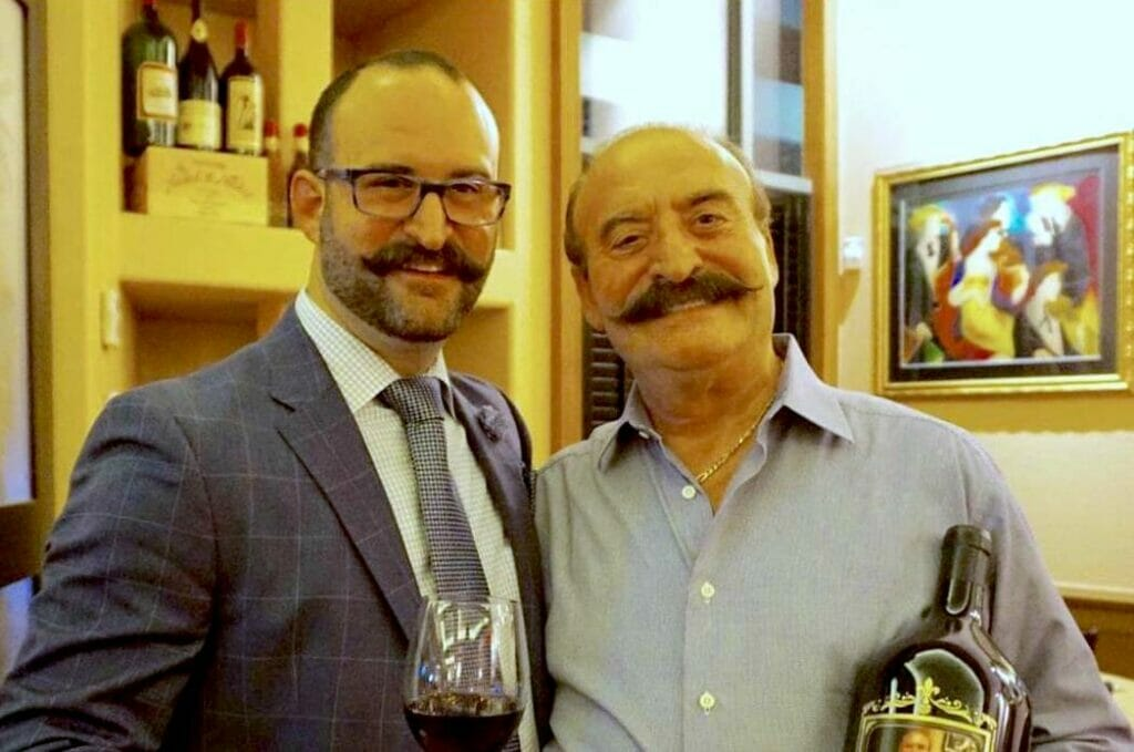 Nick Palmeri and Geatano Palmeri, at the family's restaurant Gaetano's Ristorante