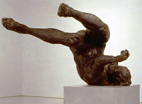 Tumbling Woman by Eric Fischl